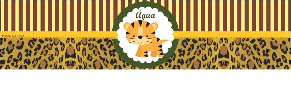 Pin de Ruth Sousa em b em 2020   Kit festa safari