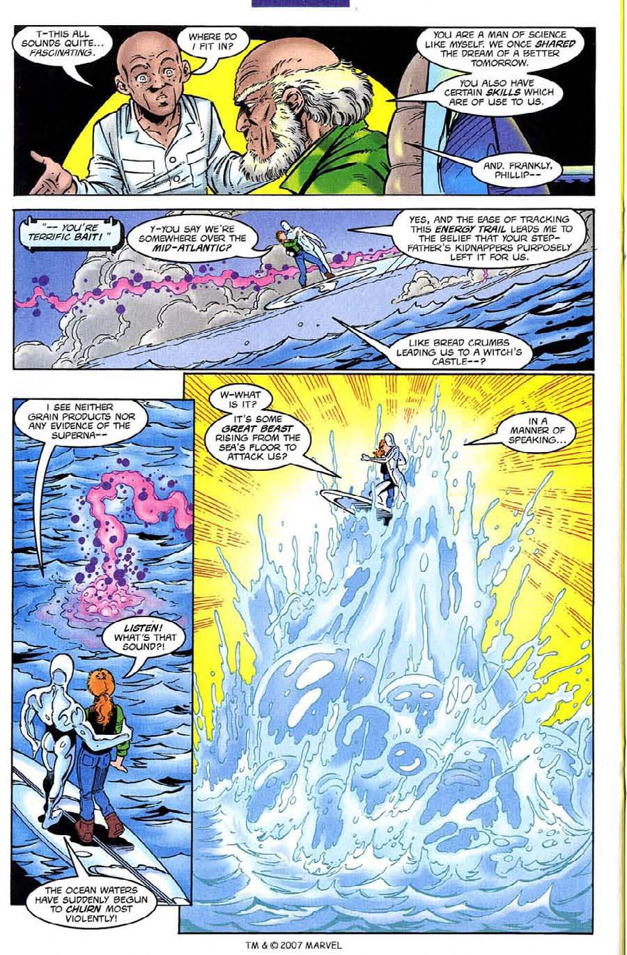 Read online Silver Surfer (1987) comic -  Issue #132 - 22
