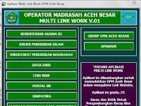 Aplikasi Operator Madrasah Multi Link Job