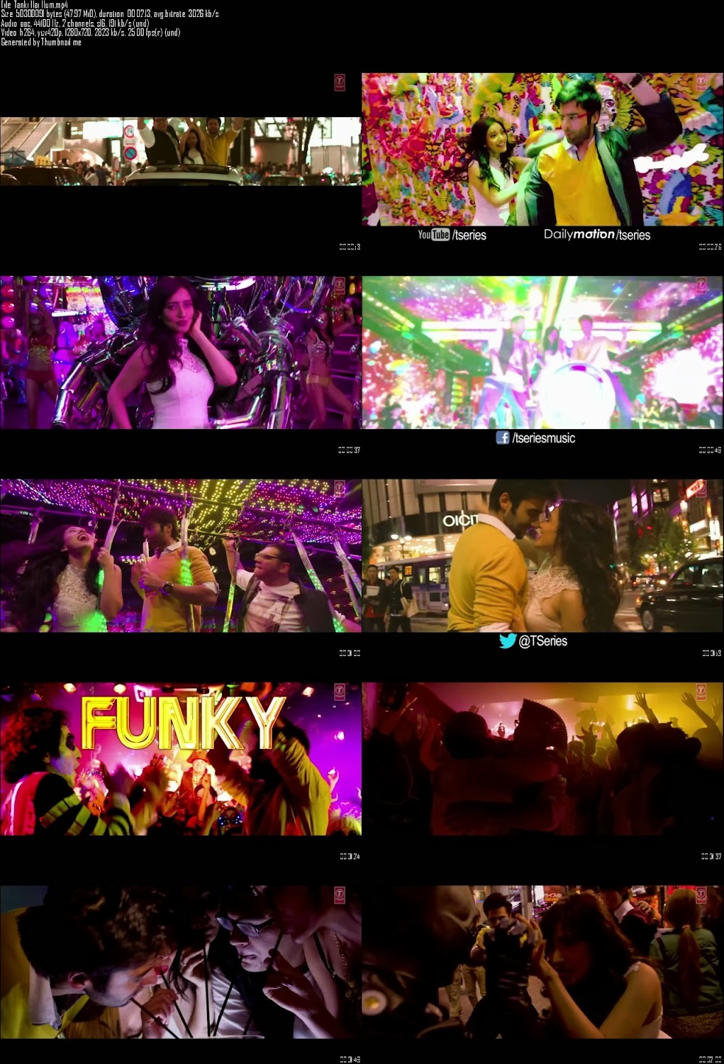 Mediafire Resumable Download Link For Video Song Tanki Hai Hum - Youngistaan (2014)