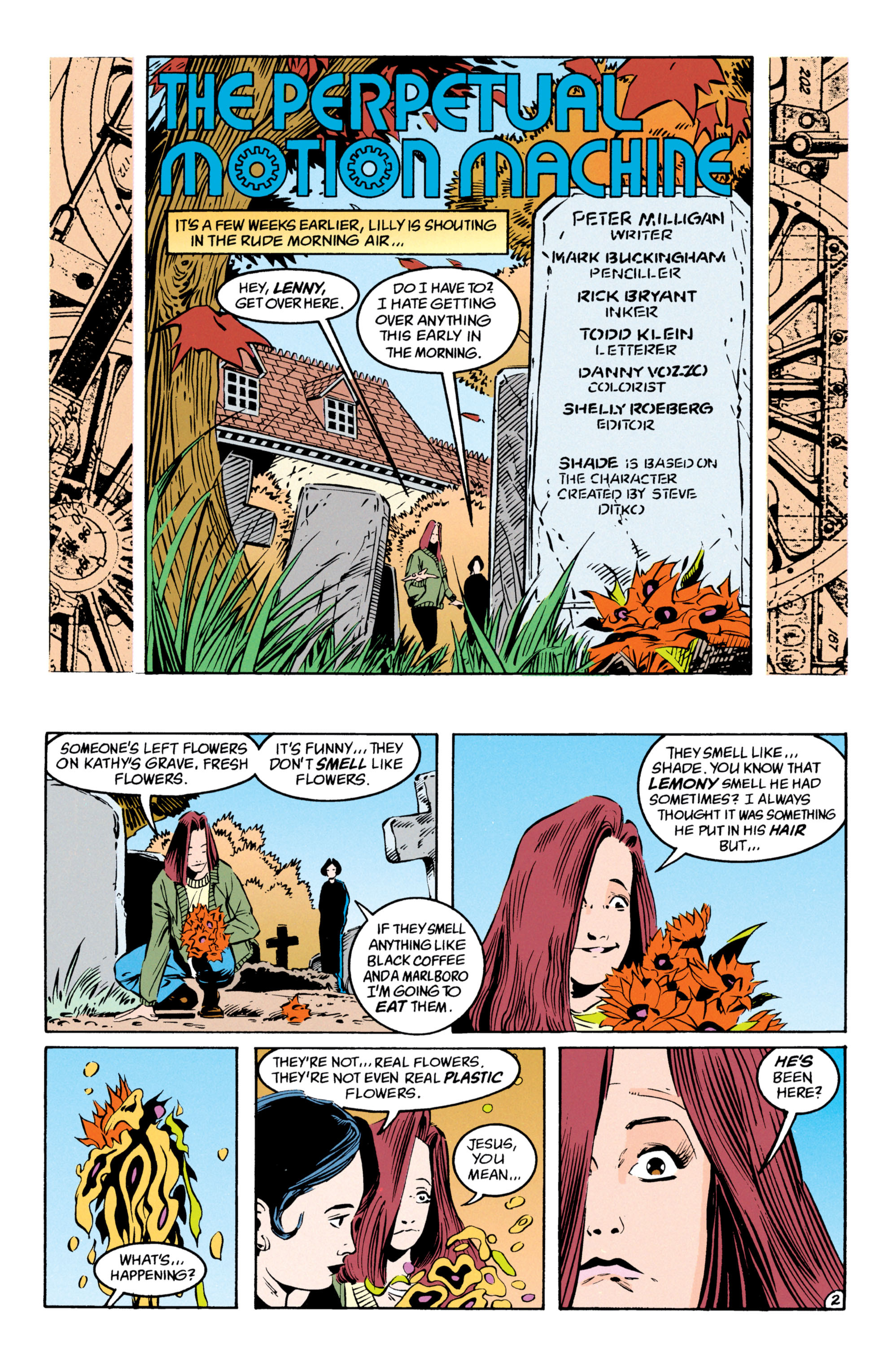 Read online Shade, the Changing Man comic -  Issue #54 - 3