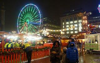 Mercado Navideño de George Square.