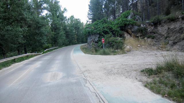 Inicio subida al Cerro San Cristóbal