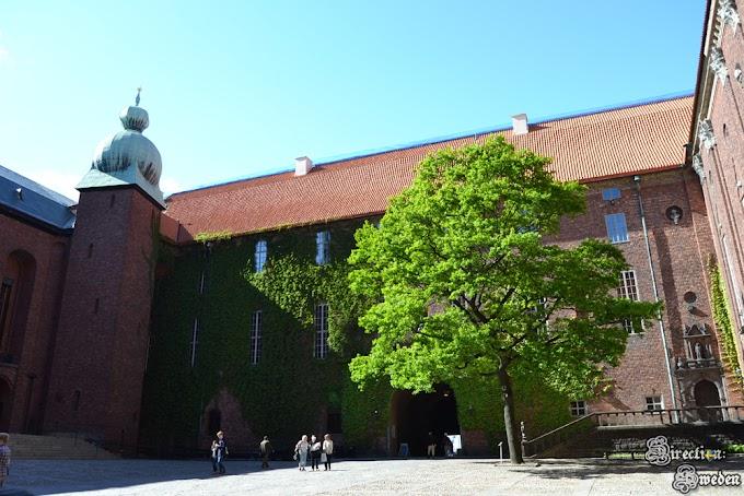 Zwiedzając Ratusz w Sztokholmie