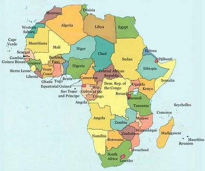 Asa Generasiku Pembagian Wilayah Benua Afrika Dan Penampakan Alamnya