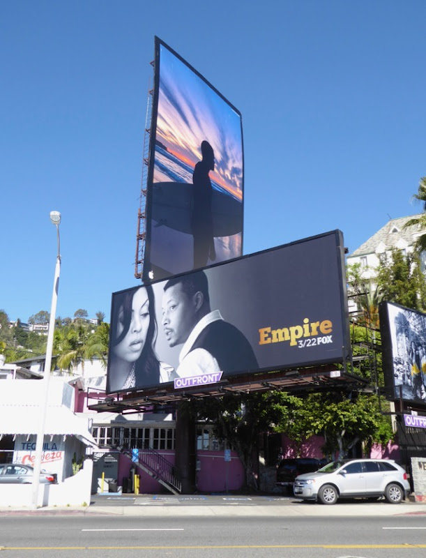 Empire midseason 3 billboard West Hollywood