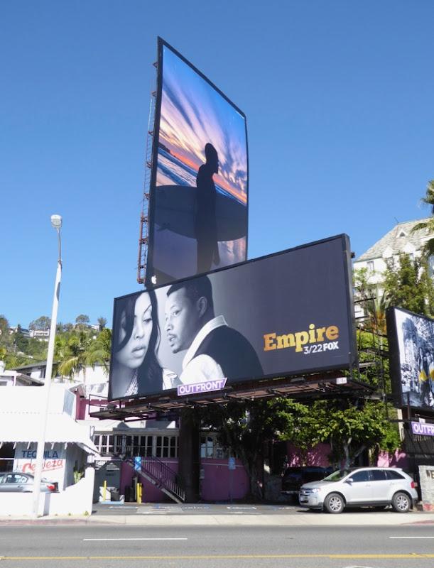 Empire midseason 3 billboard West Hollywood