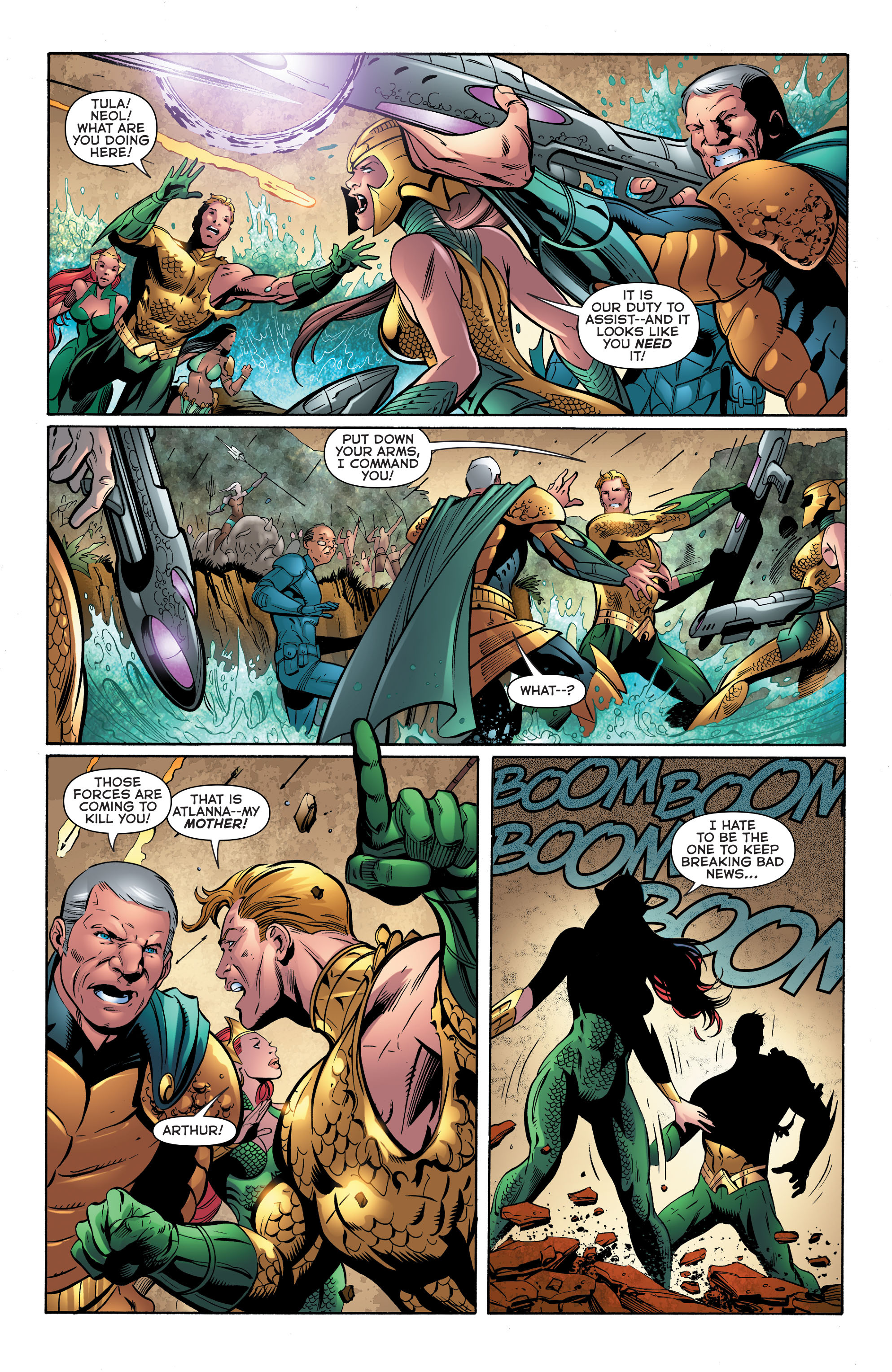 Read online Aquaman (2011) comic -  Issue #39 - 16