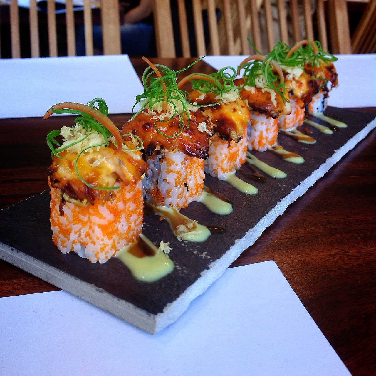 Fire Cracker California roll