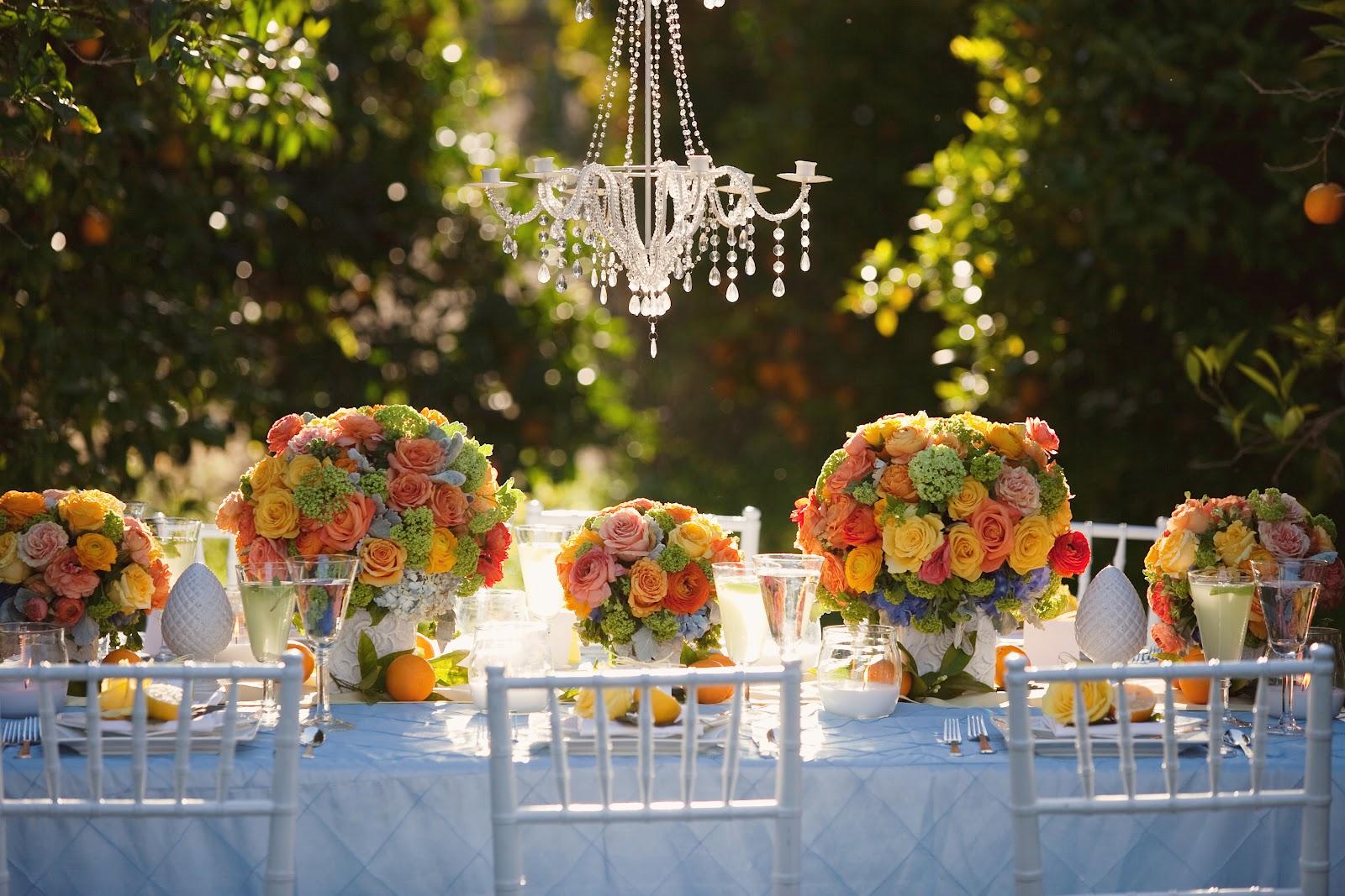 Orchard Wedding - Citrus Wedding Colors
