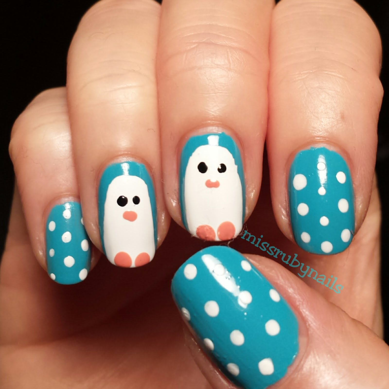 Miss Ruby Nails: Penguin Nails!