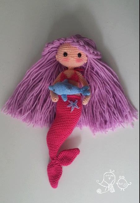 mermaid.dolphin-crochet-pattern