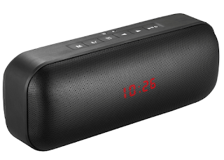 Portronics India - An All-in-One Versatile Speaker with Built-in Alarm Clock, FM & Mic
