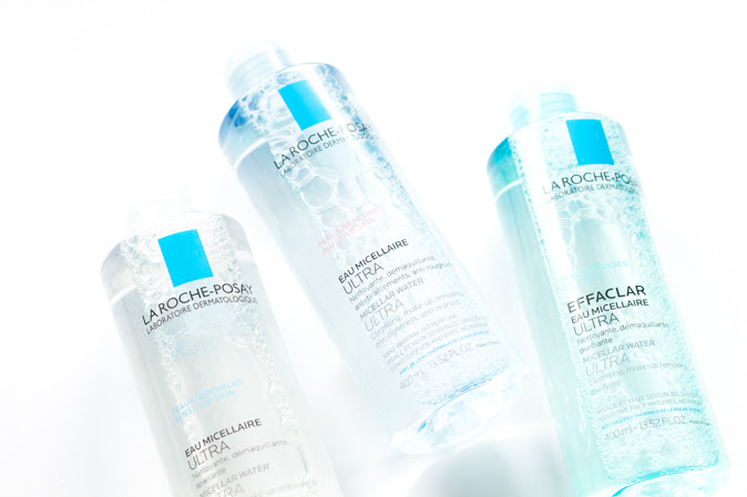 La Roche Posay Micellar Water Ultra for Sensitive Skin, Dry to Reactive Skin, Oily Skin