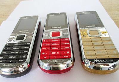 Các màu sắc điện thoại Nokia K60