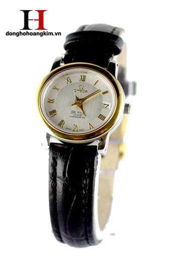 Đồng hồ nữ Omega dây da giá rẻ dưới 1 triệu