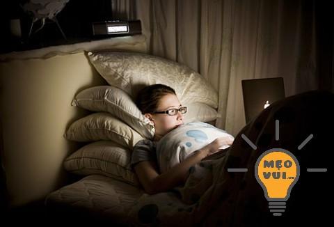 Thói quen xấu: Thức khuya