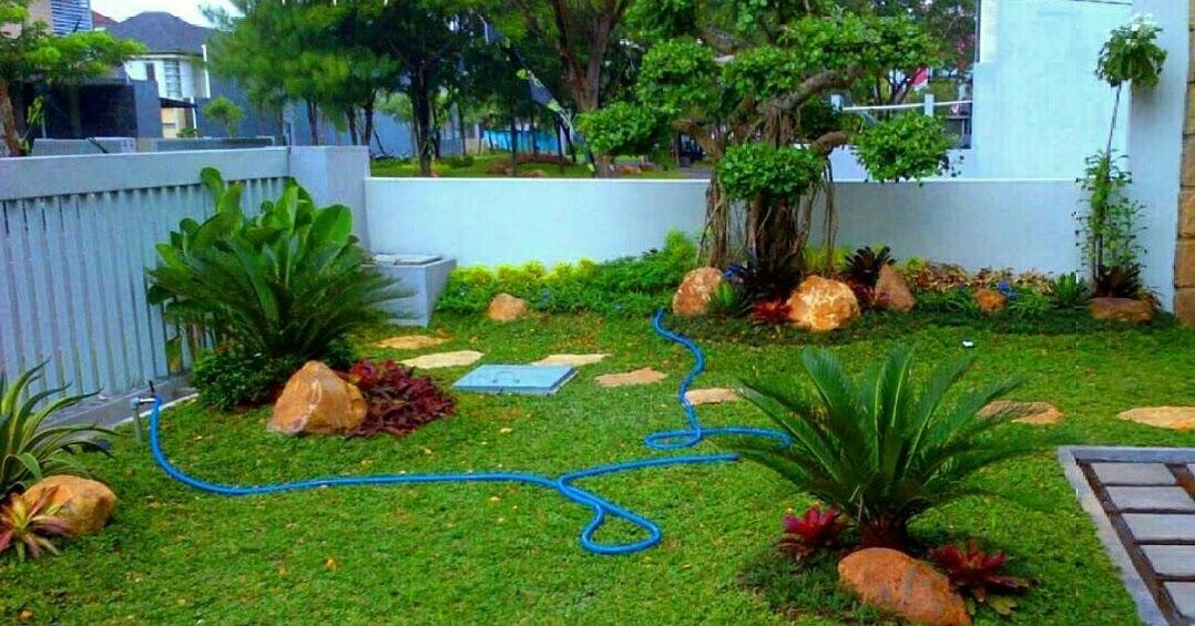 630 Desain Taman Depan Rumah Lahan Luas Gratis Terbaik