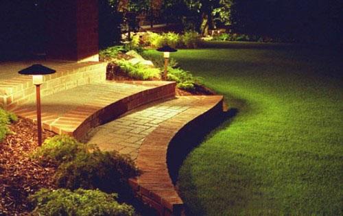 como decorar 2013 Modelos de iluminação modernos para Jardim