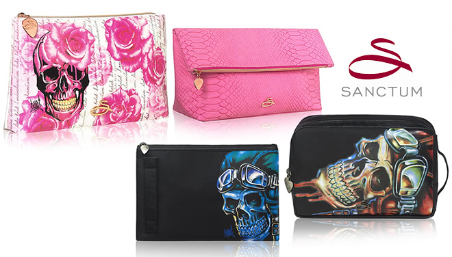 Sanctum Soho travel wash bag collection