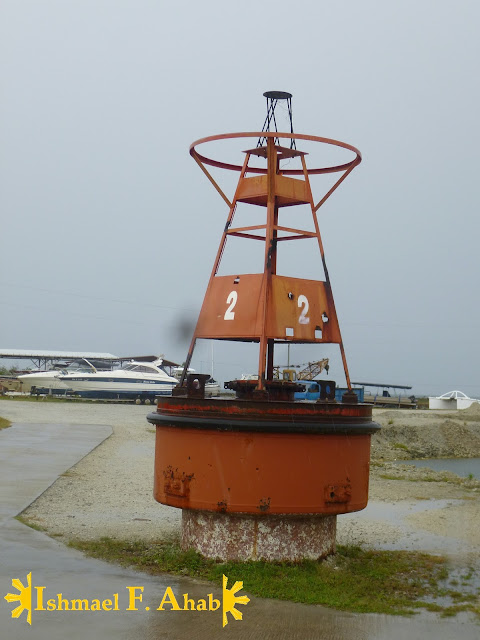 Buoy in Porter Marina in Lilo-an, Cebu