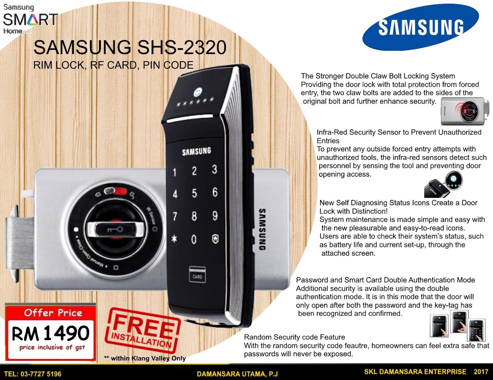 SKL DIY Uptown Latest Promotions Digital Lock Digital Safe