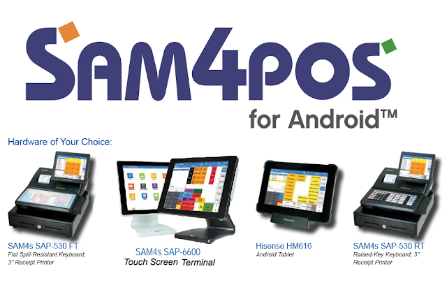 SAM4s Android Cash Register System