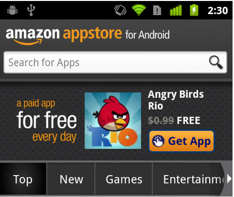 Result, there amazon app store download for android has