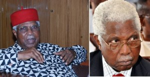 Former Vice President Alex Ekwueme As He Passed Away