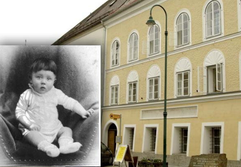 adolf hitler birth house austria