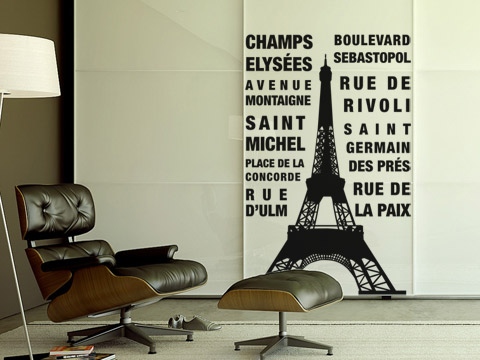 decorar con tour eiffel