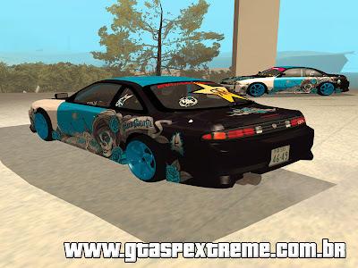 Nissan Silvia S14 NonGrata Drift para GTA San Andreas
