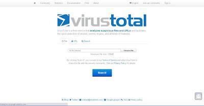 Virustotal Online Antivirus