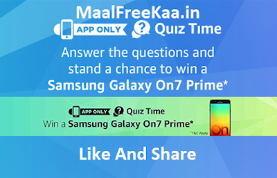 Free Samsung Galaxy On7 Prime