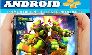 تحميل لعبة سلاحف النينجا ninja turtles HD على محاكي ppsspp مجانا للأندرويد بحجم صغير 400 ميغا