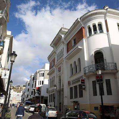 Edificios españoles en Tetuán