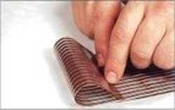 бант из шоколада