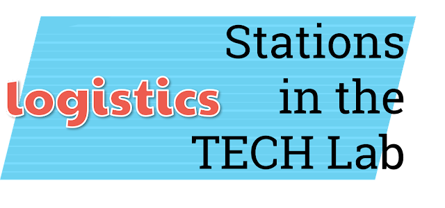 Logistics for stations in the tech lab