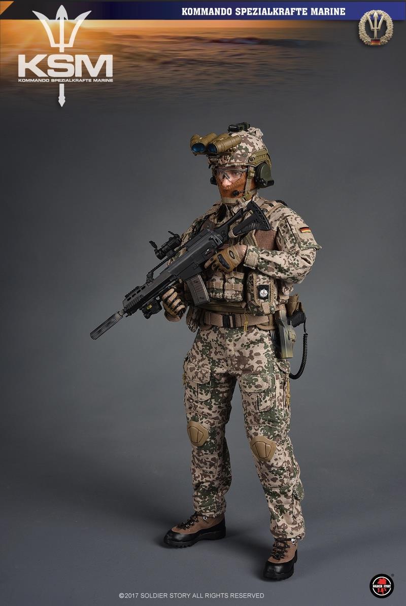 Toyhaven Soldier Story 1 6th Scale Kommando Spezialkr 228 Fte