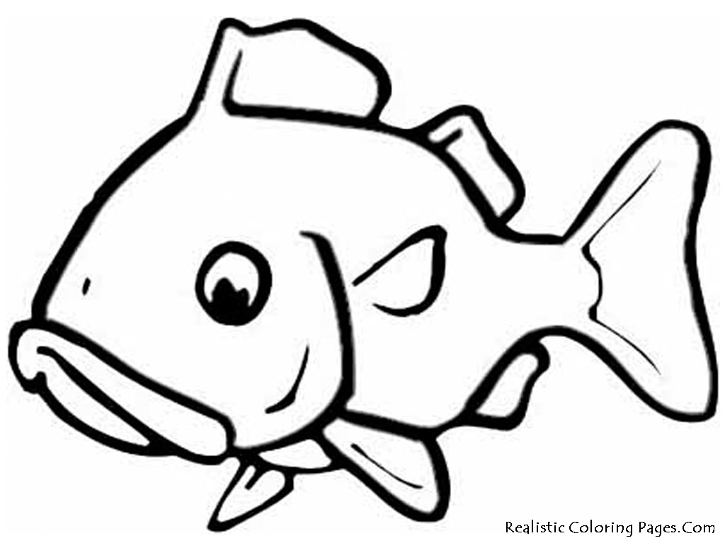 Goldfish coloring pages realistic coloring pages for Coloring fish pages