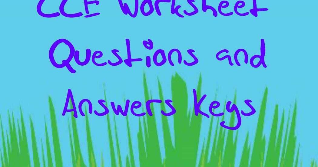 CCE WorkSheet Questions 1st to 10th Standard TRB TNPSC – Worksheet Answer Keys