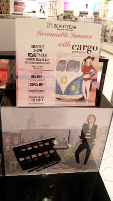 Cargo Cosmetics is from Canada, but is now based in the USA. This award-winning brand is made with the traveling woman in mind, hence the packaging and shade names.