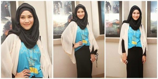 artis cantik berjilbab di indonesia
