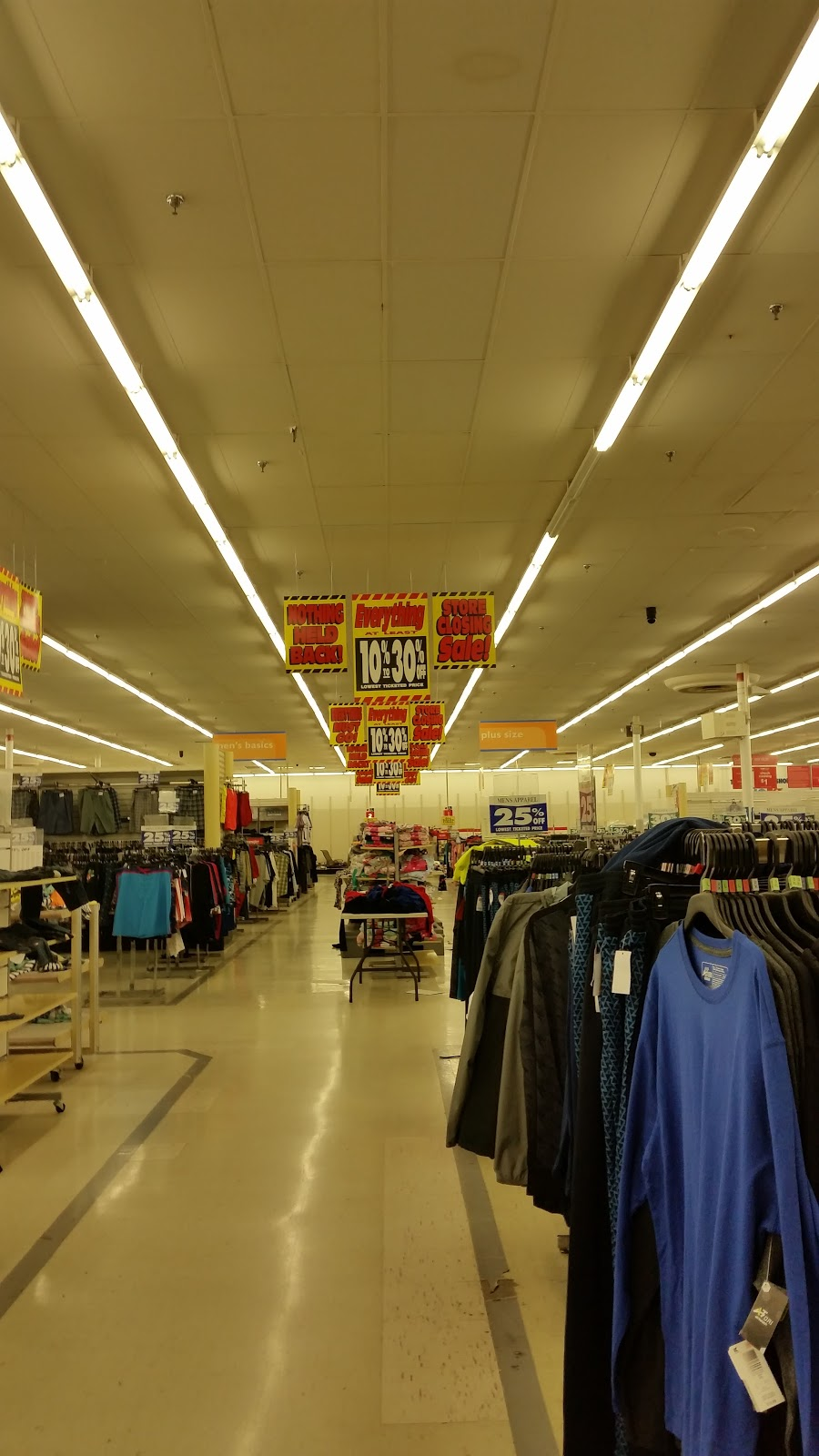 Back Aisle Of The Store With Sporting Goods