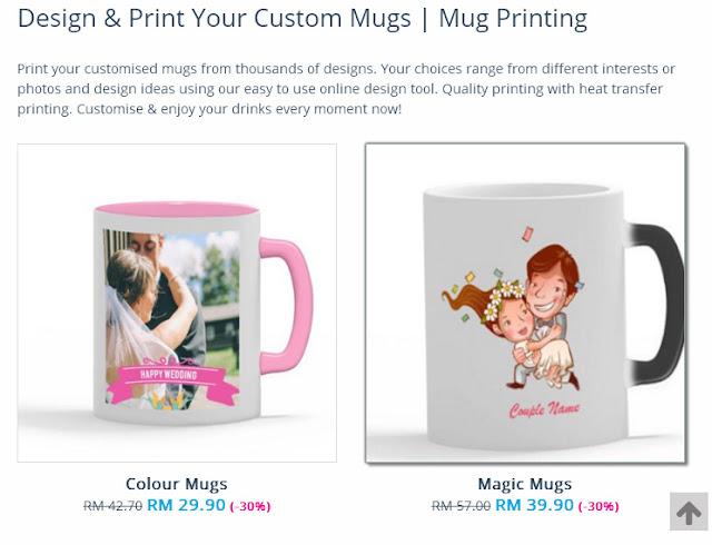 printcious.com, cipta hadiah sendiri di printcious.com, idea kreatif cipta hadiah untuk tersayang, diy tshirt, diy mug, diy phone case, diy keychain, diy baby rompers,