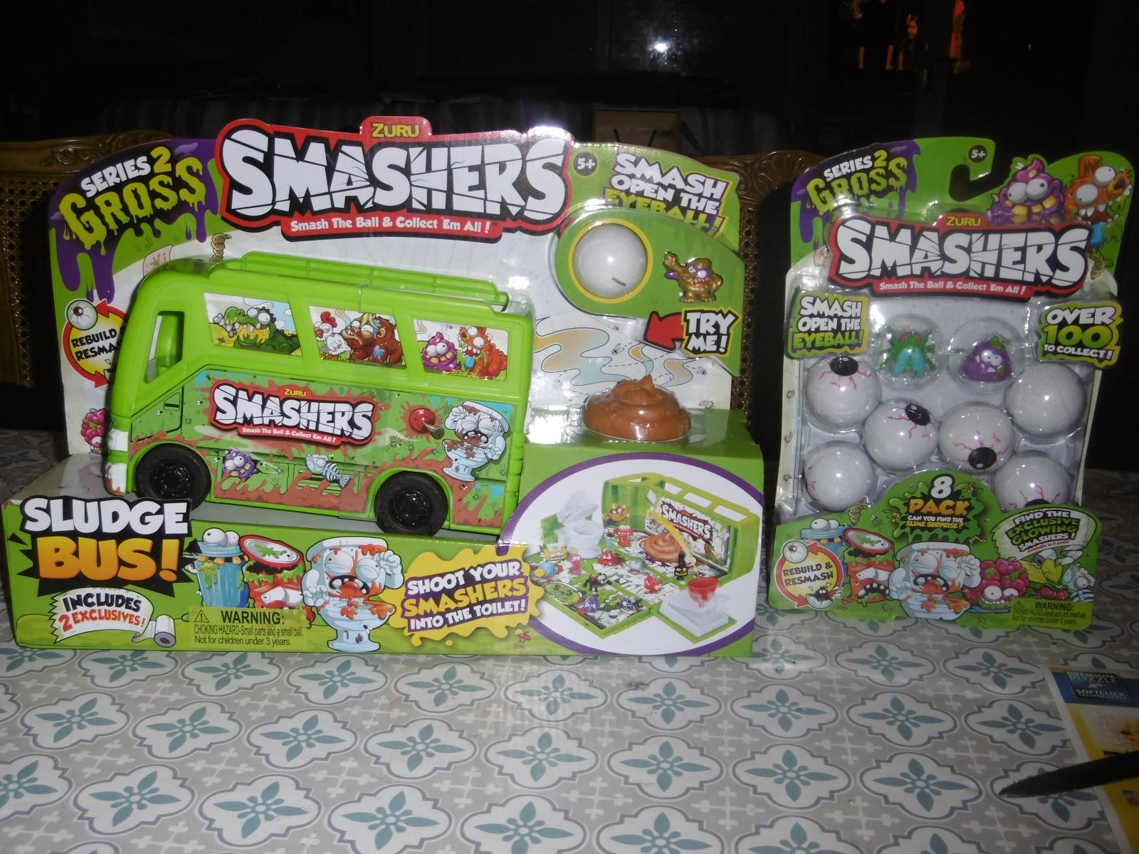 Zuru Smashers Series 2 Gross Eye Sore # 2014