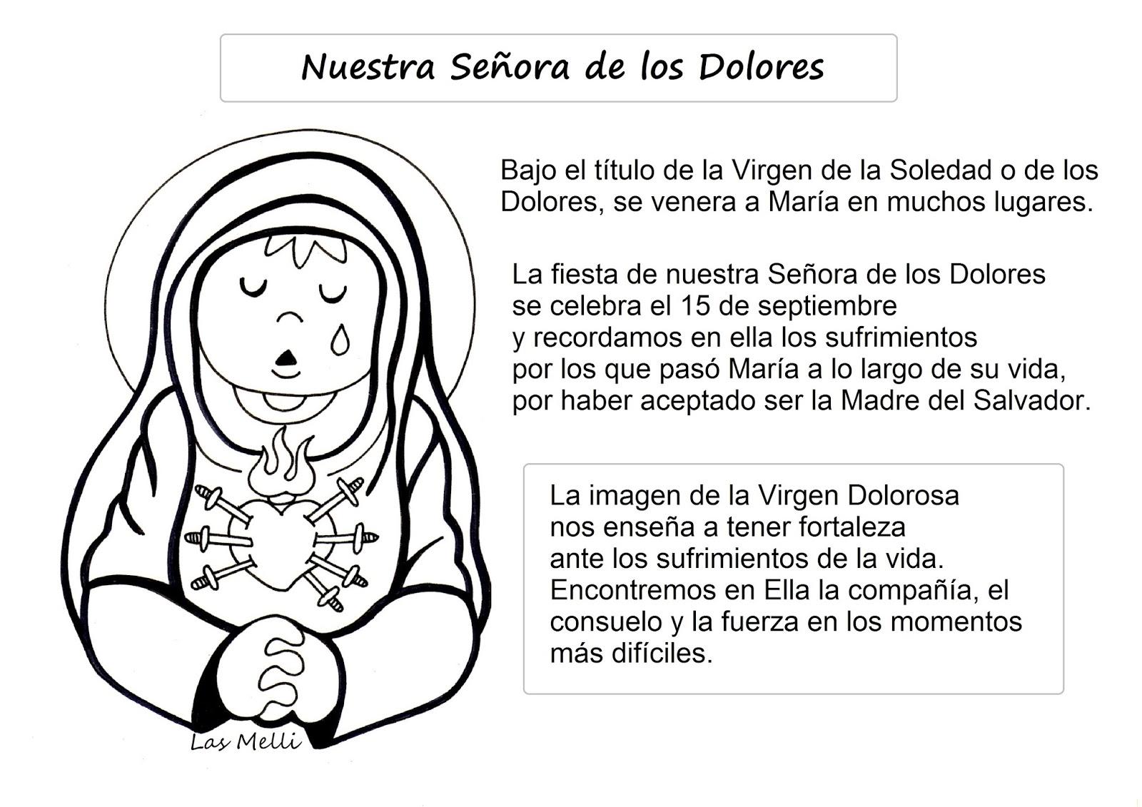 La Catequesis (El blog de Sandra): Recursos Catequesis Siete Dolores ...