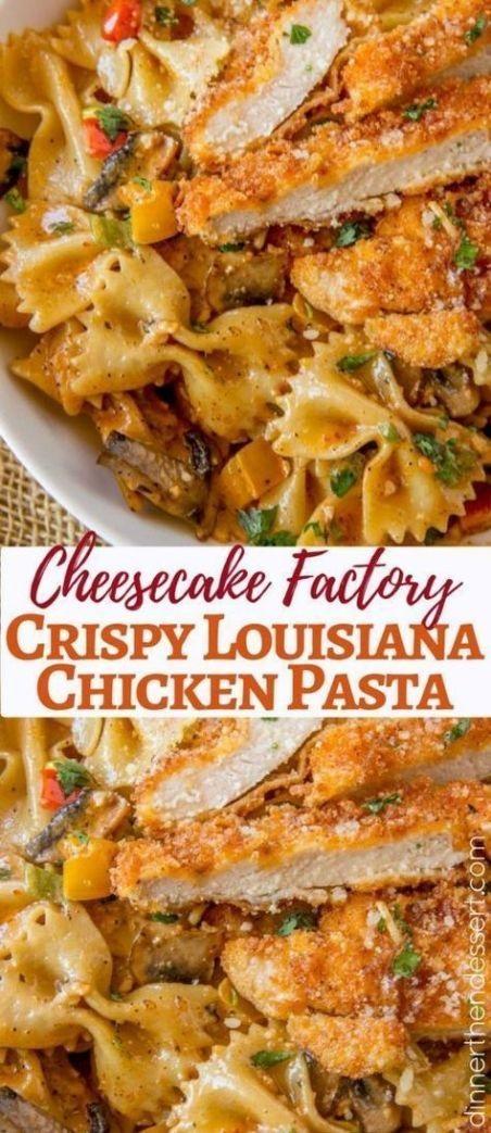 Cheesecake Factory Copycat Louisiana Chicken Pasta Recipe