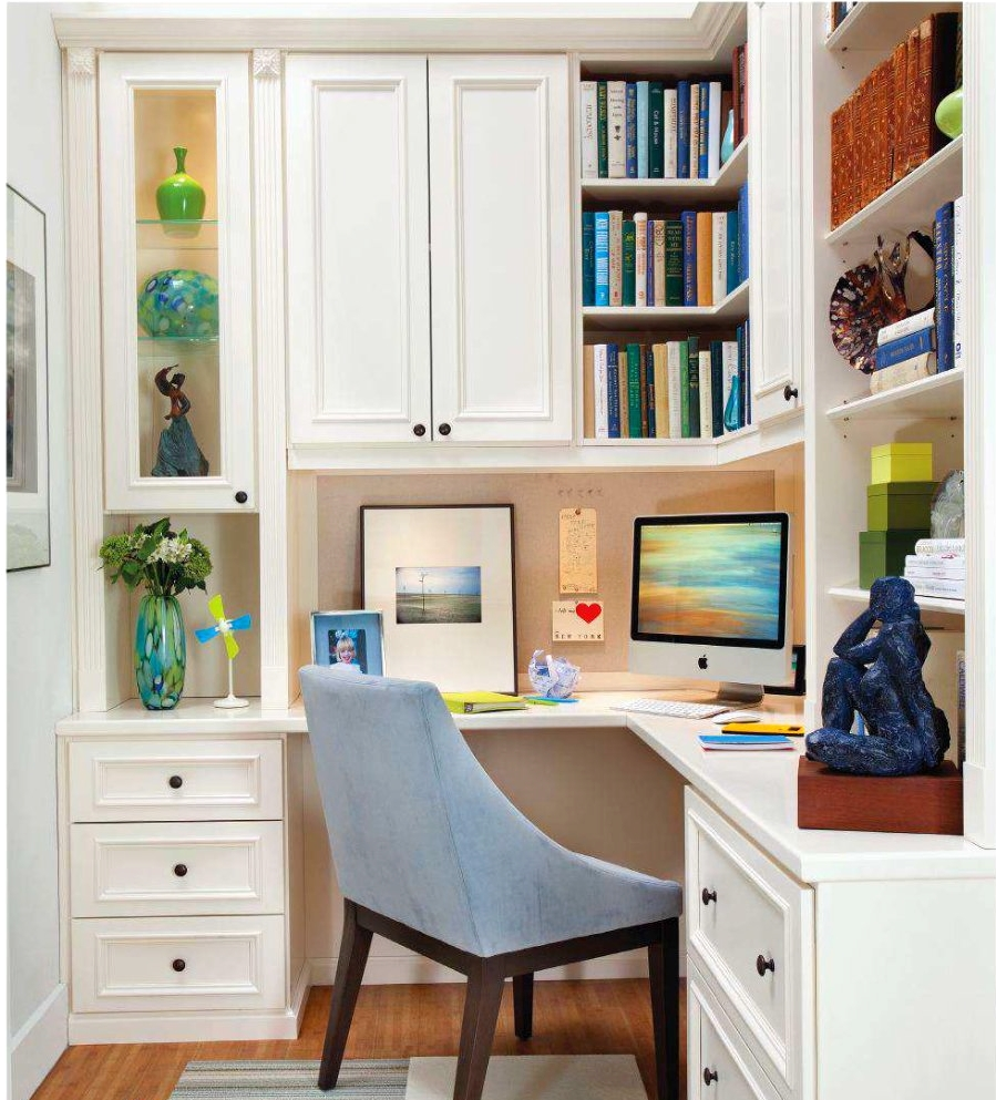 Decoração De Home Office Pequeno E Simples: 50 Fotos