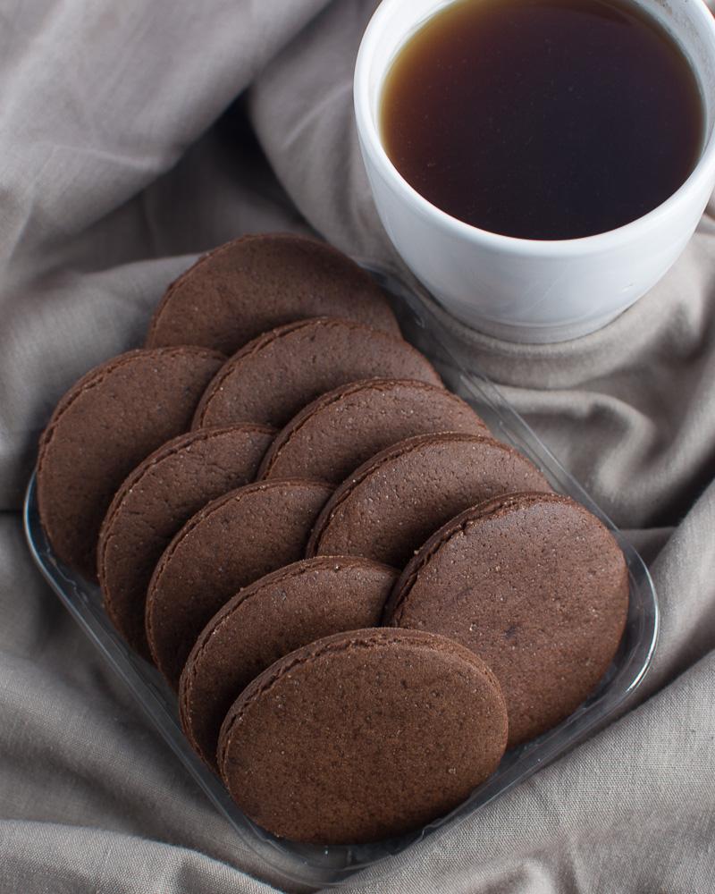 No Chill No spread chocolate cookies